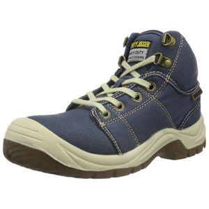 CHAUSSURES DE SECURITÉ Unisexe adulte Chaussures Désert de sécurité, Bleu  ... d5a43b888725