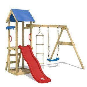 STATION DE JEUX Aire de jeux WICKEY TinyCabin  portique en bois av