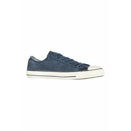 Sneaker Homme Pas cher en Soldes, Bleu marine, Cuir, 2017, 42 43 44Philippe Model