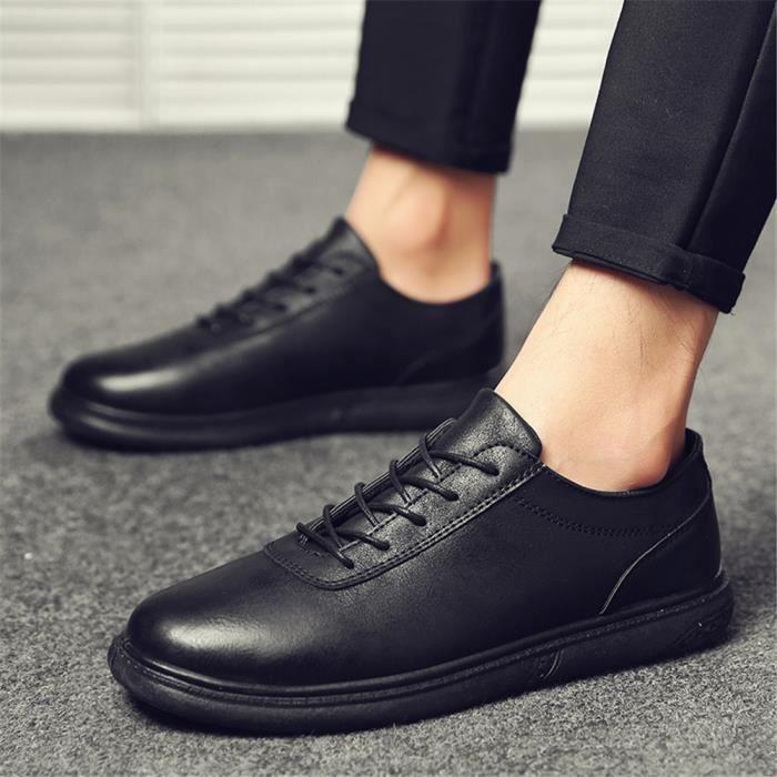 Homme Derbies 2018 En Cuir Nouvelle Mode Qualité SupéRieure Chaussures Meilleure Qualité Sneakers Homme