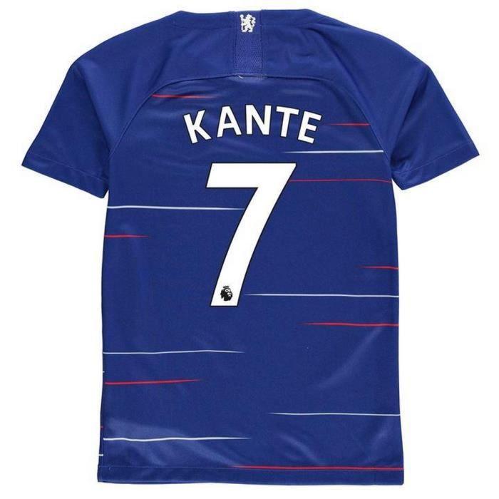 ba225403fb08f Nouveau Maillot Enfant Nike Chelsea FC Domicile Flocage Officiel N ...