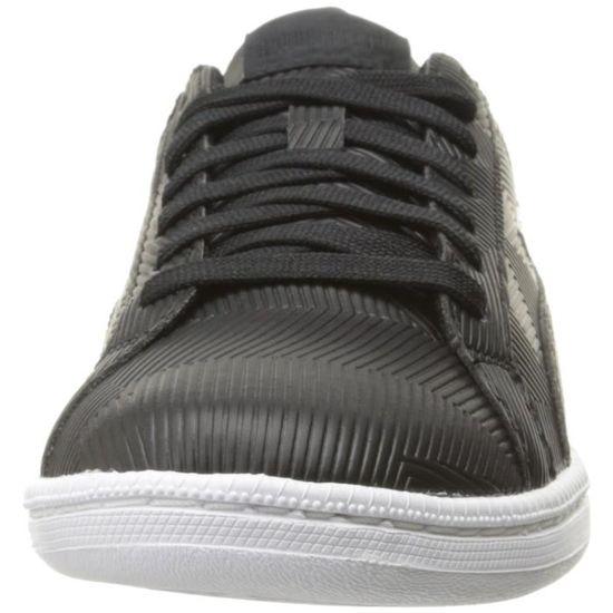 Puma Smash Deboss Sneaker Fashion AD33X Taille-41 / Noir Noir - Achat / Taille-41 Vente basket 3737e2
