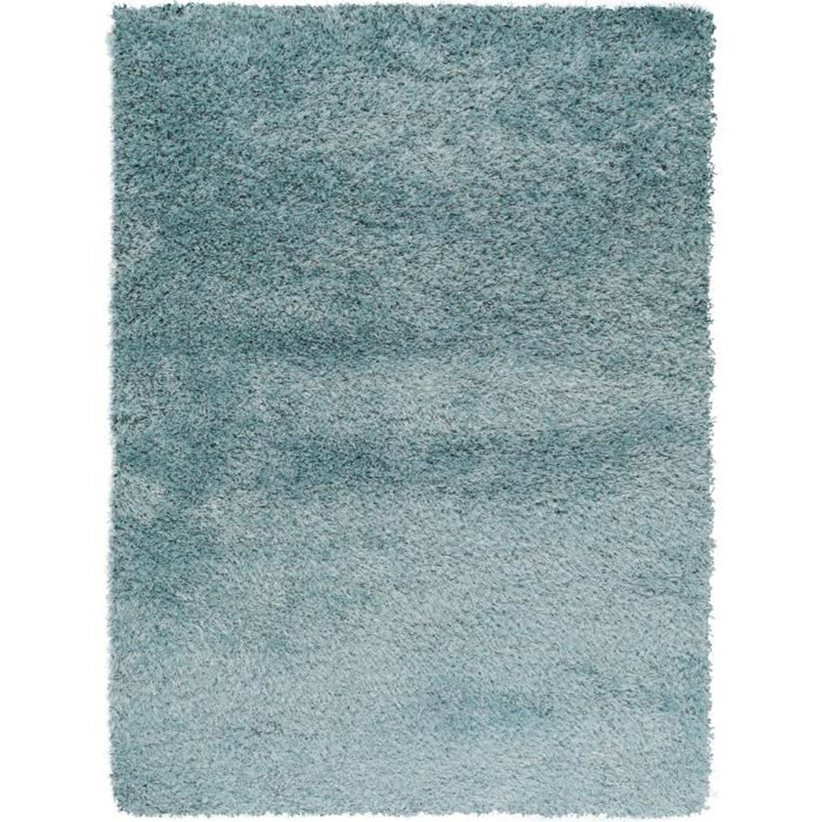 tapis shaggy poils longs sophie bleu clair 160x230 cm tapis doux pour salon achat vente. Black Bedroom Furniture Sets. Home Design Ideas