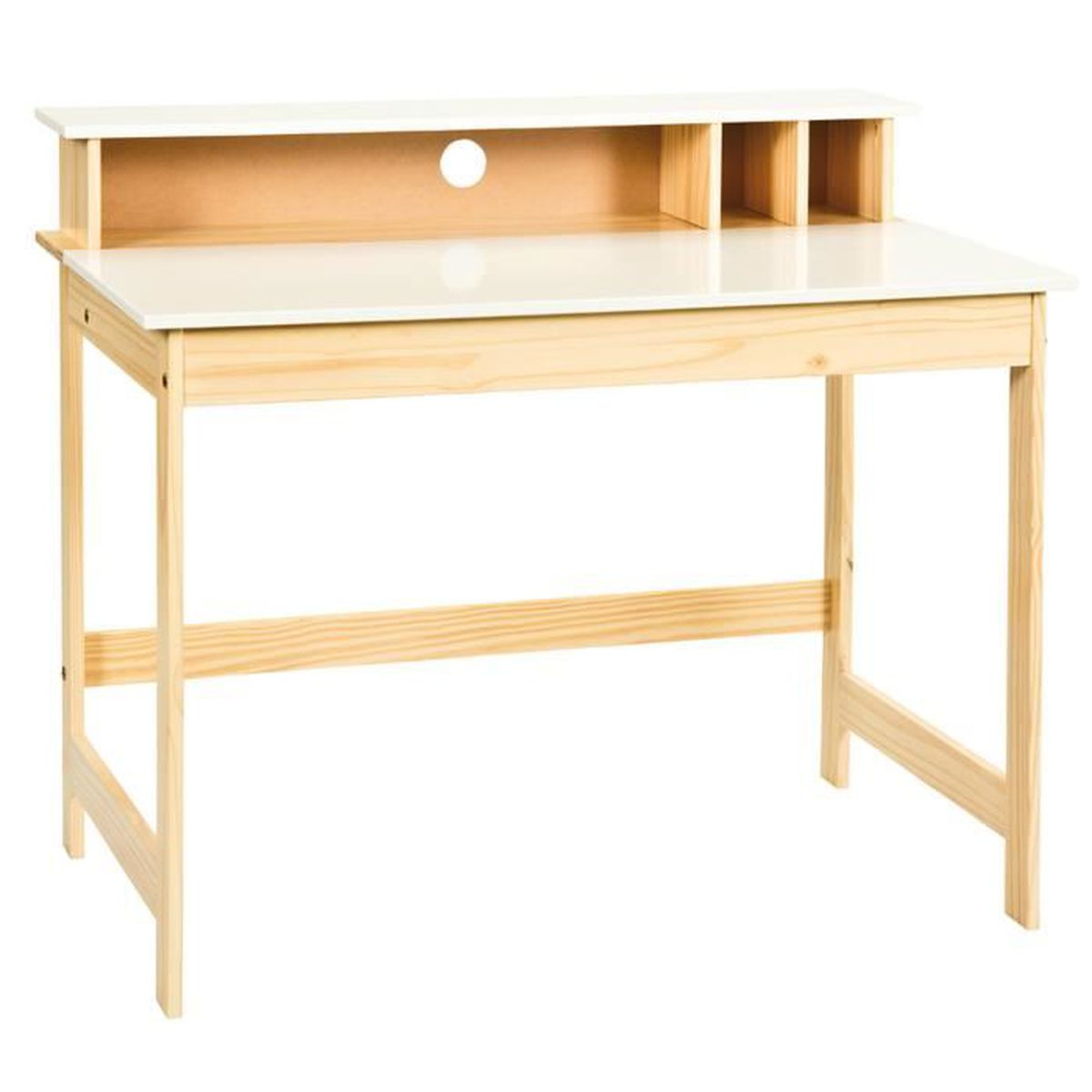 bureau enfant en bois massif achat vente bureau enfant. Black Bedroom Furniture Sets. Home Design Ideas