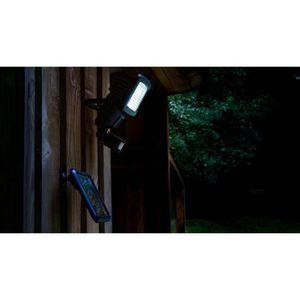 GALIX Spot solaire tr?s éclairant avec détecteur de présence - 800 lumens