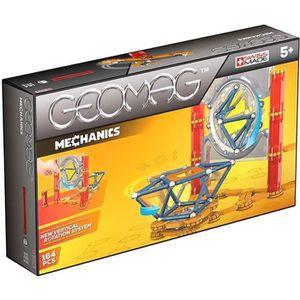 GEOMAG MECHANICS Jeu de Construction Magnétique 164 pcs
