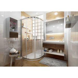 porte de douche porte de douche ancoswing 1 4 de rond coulissante - Douche Italienne Dimension1752
