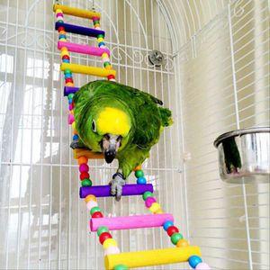 JOUET oiseau swing pont en bois échelle grimper cockatie