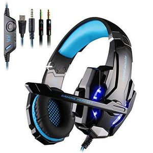 CASQUE  - MICROPHONE Casque Gamer Gaming Headset EACH G9000 Casque Micr