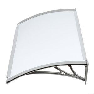 PORTE D'ENTRÉE OOBEST®Auvent de porte d'accueil solaire 100x100cm