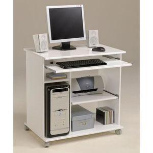 Meuble ordinateur blanc achat vente meuble ordinateur blanc pas cher cd - Meuble informatique pas cher ...