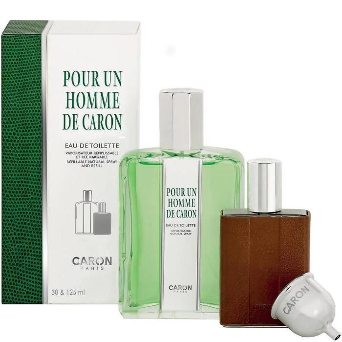 Recharge Pour 125ml Coffret De Flacon Homme Un Toilette Caron Eau F1K3TlJc