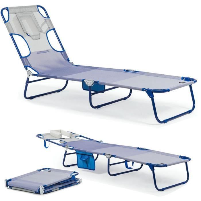 miami ice transat bleu lit de plage chaise longue bain de soleil sp ciale lecture piscine. Black Bedroom Furniture Sets. Home Design Ideas