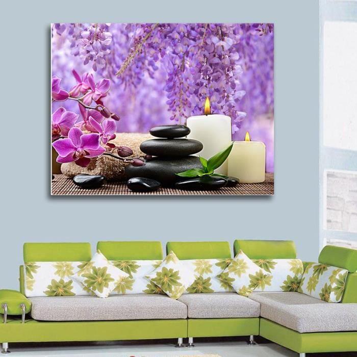 tableau zen pas cher interesting tableau toile cadre toile tableau zen orchide x cm with. Black Bedroom Furniture Sets. Home Design Ideas