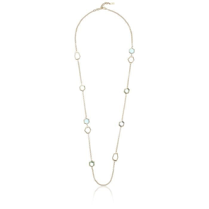 Cole Haan Stone Station Necklace YMF00
