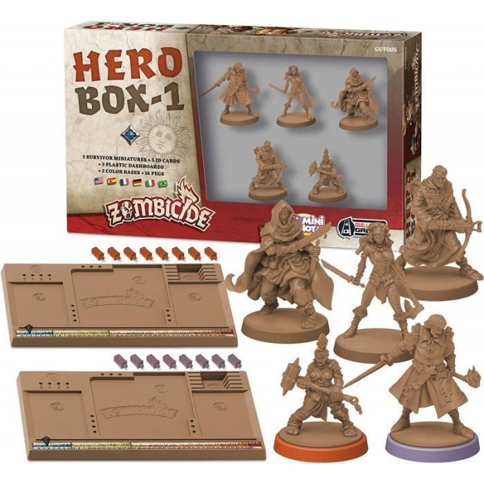 Zombicide Black Plague Extension Hero Box 1 Achat