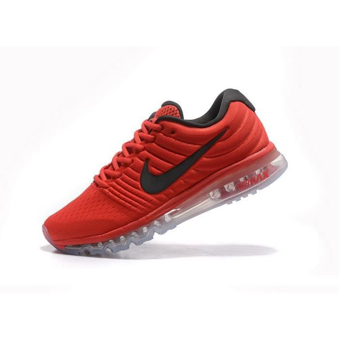 nike air max 2017 baskets rouge