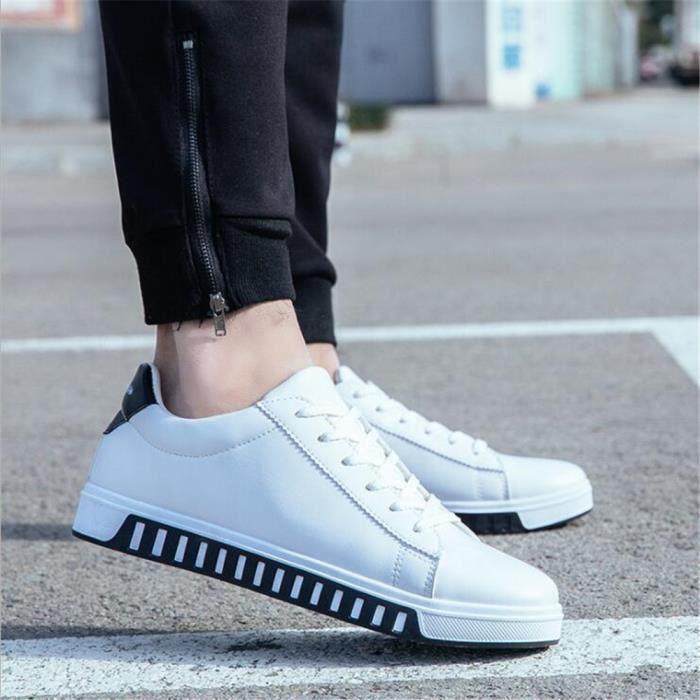 Sneakers hommes Antidérapant résistantes à l'usure Chaussures de sport personnalité Marque De Luxe Poids Léger Grande Taille 39