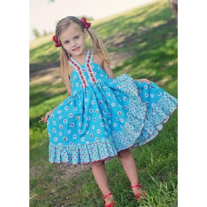 Sangle de filles princesse jupe florale