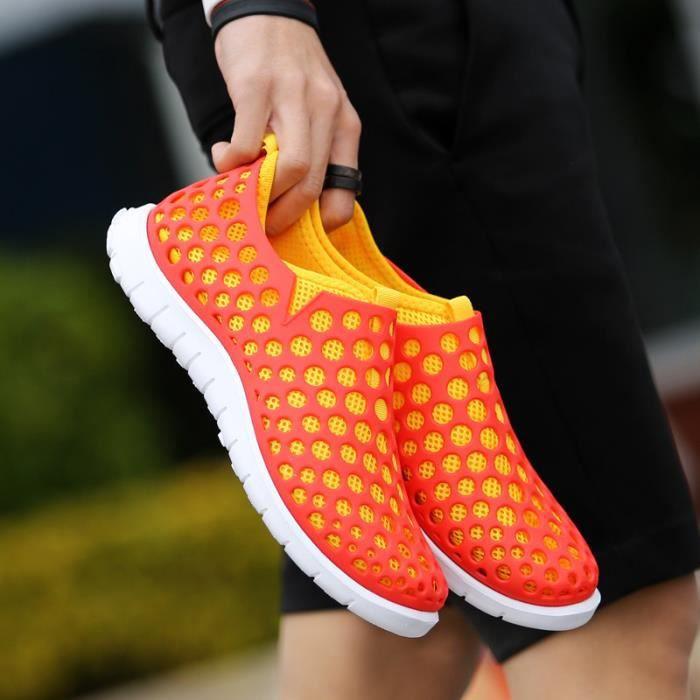 Hommes Respirant Et Sèchent Plage Femmes Rapidement Sandales Chaussures Des De Trou rwrFx7qH