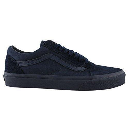 Vans Old Skool Mono Hommes Bleu à lacets en toile Chaussures de sport Chaussures HZ3XN 41 IuLyu1Lwp9