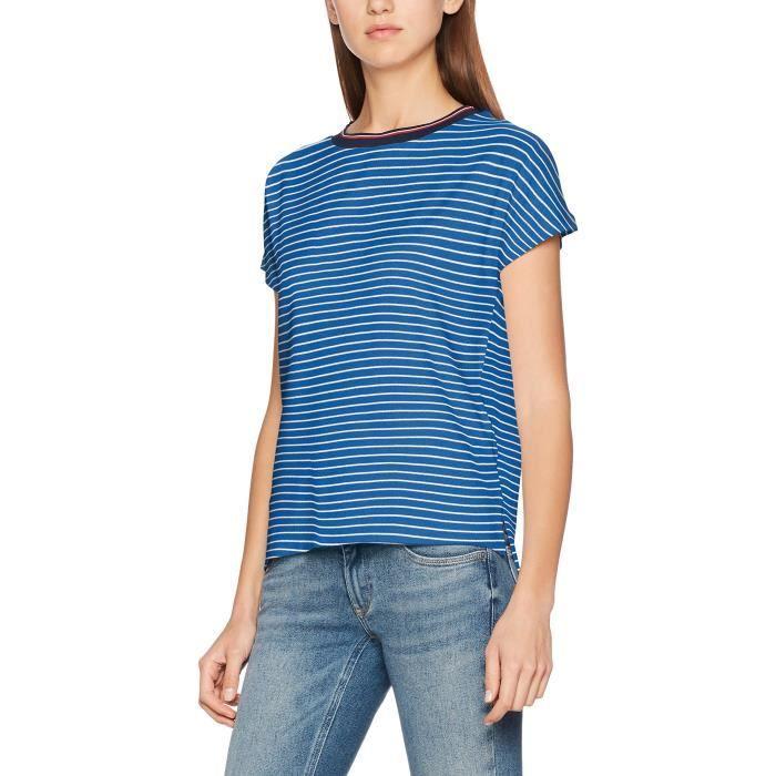 d522ea288b661 Tommy Hilfiger Hilfiger Denim Thdw Stripe Bn Knit S-s 21, T-shirt ...