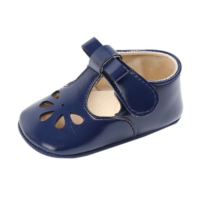 BOTTE Bébé Nourrissons Enfants Fille garçons Doux Sole Crib Toddler Doux Nouveau-Né Sandales Chaussures@BleuHM