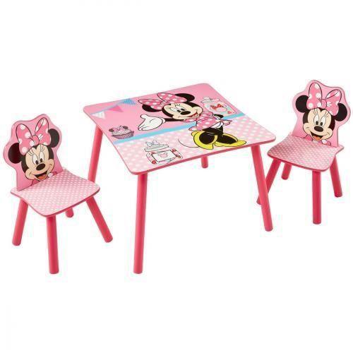 Delicieux Table Et Chaise Minnie #11: Ensemble Table + Chaises Disney Minnie