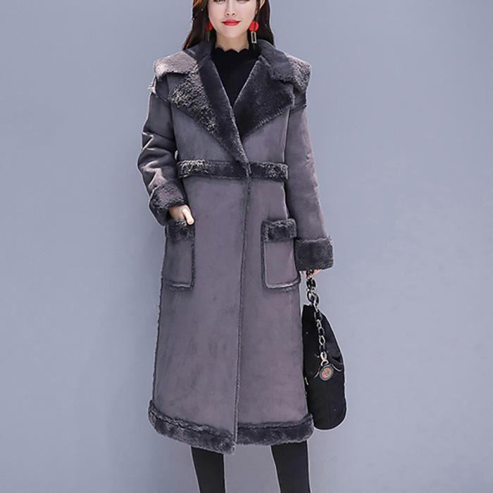Épais Womens Rembourré En Outwear Casual Long ®mgl5621 Manteau Vrac Parka Coton XqTAX