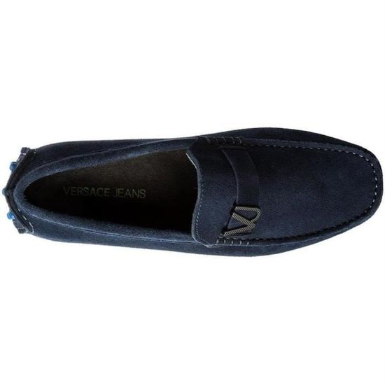 Mocassins linea loafer homme versace jeans e0yrbsf2 Bleu Bleu - Achat    Vente mocassin - Soldes  dès le 9 janvier ! Cdiscount 32d24fed9b3