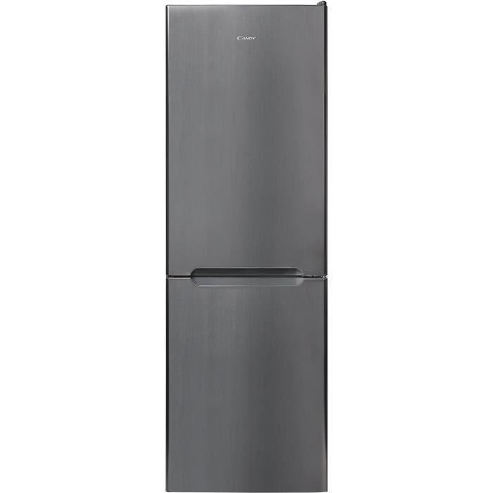 CANDY CSET6184X - Réfrigérateur combiné - 305 L (219 + 86 L) - Froid brassé - A++ - L 60 x H 187 cm