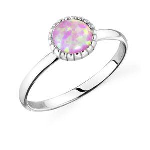 525c66d9a4bbb BAGUE - ANNEAU Femmes Argent 925 synthétique Opal Knuckle Bague (