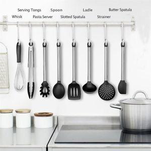 LOT USTENSILES Napoulen®8pcs outils de cuisson résistants à la ch