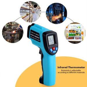 Capteur de Température Gm550 Thermomètre Infrarouge Professionnel Numériq