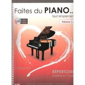 PARTITION Faites du Piano .. tout simplement avec DVD inclus