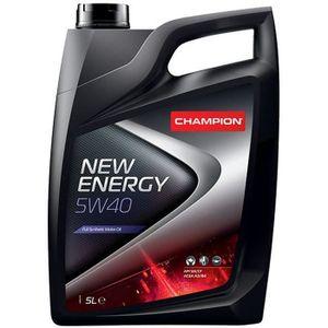 HUILE MOTEUR Huile Moteur CHAMPION Champion 5W40 New Energy 5L