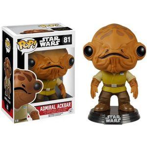 FIGURINE - PERSONNAGE Figurine Funko Pop! Star Wars: Admiral Ackbar