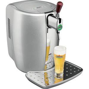 MACHINE A BIÈRE  Machine à bière Argent + coffret 2 verres