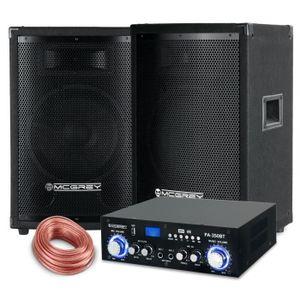PACK ACCESSOIRES McGrey PA set complet PowerDJ-1500 800W