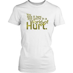 T-SHIRT Femmes t-shirt - You lose it here and you're in a