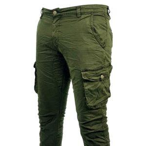 pantalon cargo homme slim achat vente pantalon cargo homme slim pas cher cdiscount. Black Bedroom Furniture Sets. Home Design Ideas