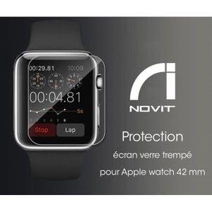 PROTECTION MONTRE CONN. Protection écran Verre trempé pour Apple Watch (42