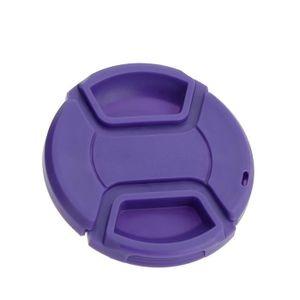 BOUCHON D'OBJECTIF Bouchon Avant d'Objectif 58mm Violet Universel