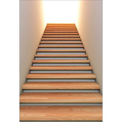 Stickers muraux déco : montée escaliers Dimensions - 80x117cm ...
