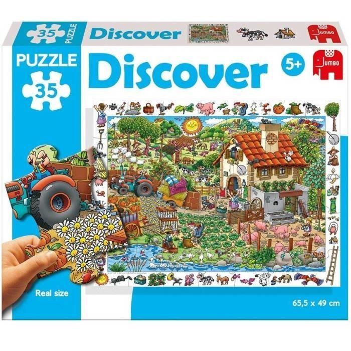 DISET Puzzle 35 Pièces Ferme