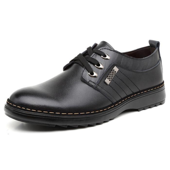 DERBY Chaussures Derby cuir Homme Noir