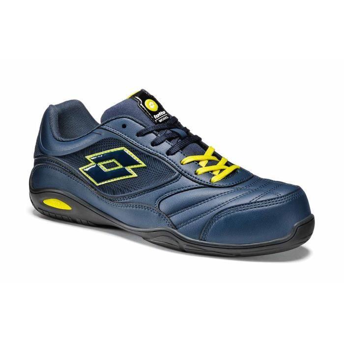 chaussures de s curit lotto energy 700 basket confortable s3 sra hro bleu achat vente. Black Bedroom Furniture Sets. Home Design Ideas