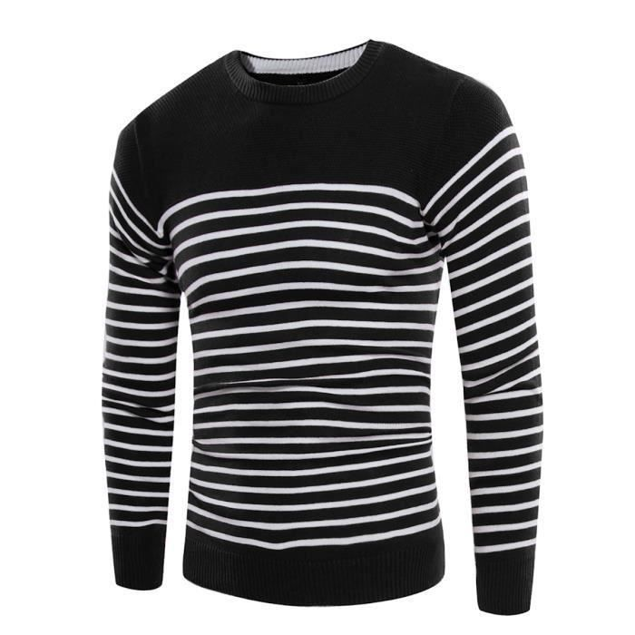 Pull homme raye - Achat   Vente pas cher df0926b69a1d
