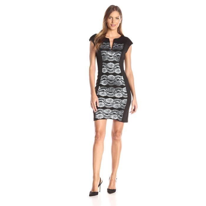 2b28c2569e0 Vêtements pour femmes dentelle à mancherons Une robe de ligne GB79T ...
