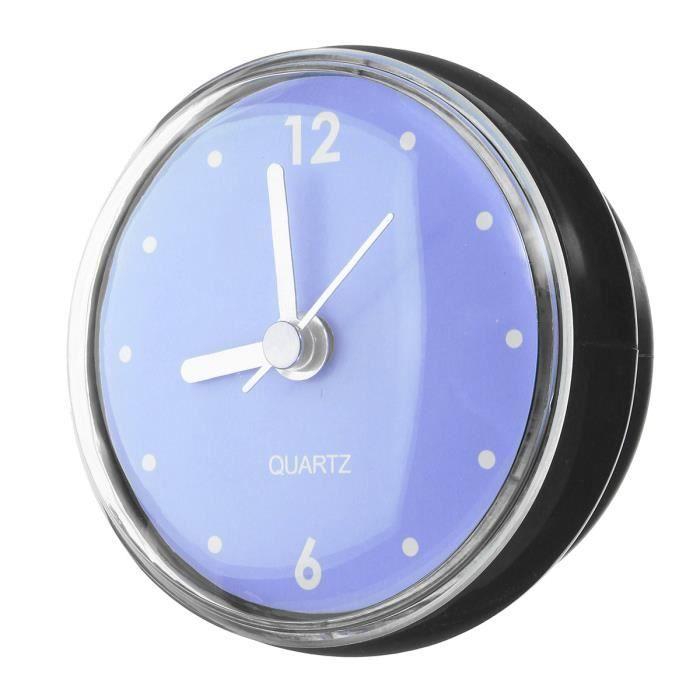 Horloge à Ventouse Étanche Φ 75mm Décor Murale Miroir Salle de Bain ...